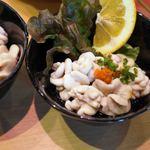京寿司 - 真鱈の白子ポン酢和え