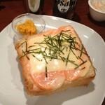 チープトリック - 明太チーズトースト