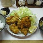 季節料理 西田 - 若とり一口かつ定食