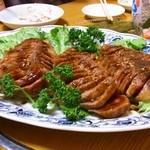 相撲茶屋 大旺 - 2013年2月 牛のたたき