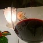 17379768 - 赤ワイン♪