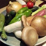 心水 - 旬野菜