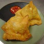 インド家庭料理 ラニ - サモサ