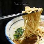 ラーメン サトー通 - 乱切り麺