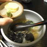 郷土料理 でくのぼう - のり茶付け[530円]