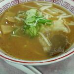 回転寿し旬楽 - ミニ味噌らーめん252円(クリッパー)2013/02