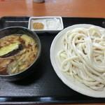 竹田 - 料理写真:肉汁うどん中(600円)_2013-02-14