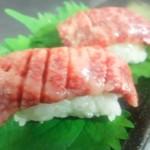 藤丸 - 当店自慢炙り寿司お口の中で溶けてしまいそうなぐらい。