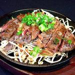 素晴らしきかな人生 - リブロースステーキの網焼き