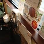 コーヒーハウス ナカザワ - コーヒーハウス ナカザワのテーブル上(13.02)