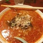 ゆるり - 〆の担々麺