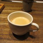 博多いねや - 私は朝早くてちょっと眠たかったんで眠気覚ましにブラックコーヒーをいただきました。