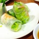 17397360 - ゴイ・クォン(海老と豚肉の生春巻き)