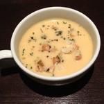 TOM'S惣YA - ランチのスープ