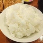 とんかつ かつ壱 - ご飯