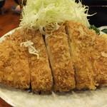 とんかつ かつ壱 - ロースかつランチ1050円