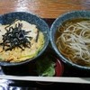 やぶ茂  - 料理写真:玉子丼セット¥750