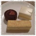 カンデオホテルズ - ケーキはこの三種類