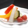 はちまる サイド B - 料理写真:彩り野菜の自家製ピクルス