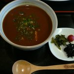 柿の葉ずし 平宗 - 鮎雑炊