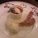 横浜馬車道 旬の肉料理イタリアン オステリア・アウストロ - デザート盛り合わせ 今日食べた猪と鴨と共に♪