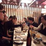 酒と飯のひら井 - 宴会風景