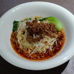 四川曹家 担担麺館 - 汁なし担々麺(\880、2013年1月)