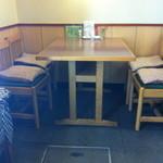 竹寿し - テーブル席