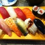 竹寿し - 【ランチ】にぎり 800円