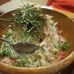 やきとりひびき庵別館 - 季節のサラダ