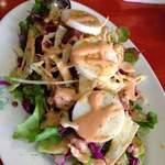 エコ ロロニョン - 2013年2月20日お食事会3人 サービスのサラダ