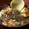マリスコ - 料理写真:プリップリッの真牡蠣を楽しむ、真牡蠣と岩もずくのアヒージョ ¥620(税抜価格)