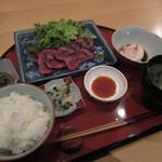 """ひろ庵  - """"さがり炙り定食""""¥1,000"""