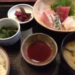 華にしき - 刺身定食