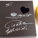 ピエールマルコリーニ 銀座店 - バレンタイン・セレクション(直筆サインいただきました)