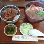 上州屋 - 和牛丼セット 1000円