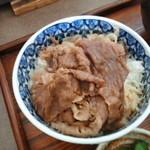 上州屋 - 和牛丼
