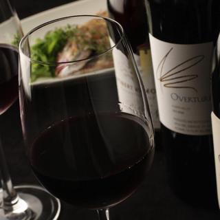 店主セレクトの日本酒&ワイン