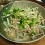 沖縄宮古島料理がちまやー桃太郎 - やっぱりミミガーでしょう