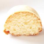 洋菓子店 ラスピラション - レモンケーキの断面。'12 4月下旬