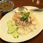 バンコク - 2013.2 カオ マン カイ(1,365円)鶏ご飯