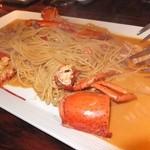 カフェ リポース - これ好きです,蟹のクリームパスタ。
