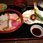 天繁 - ちらし寿司御膳