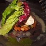 カフェ リポース - おススメのサラダ。