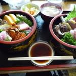 お食事処 名代亭 - 名代XX丼1,800円