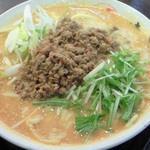 手打ち麺処 暁天 - 坦々麺大盛り(850円)