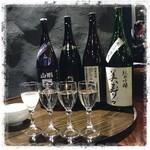 日がさ雨がさ - 信州地酒を豊富に置いたお店です。 信州人の集いで行って来ました! 美味しかったー!