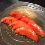 博多 一番どり - とりあえずメニューからトマト