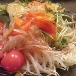 会乃風 - 和風サラダ。