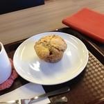 マフィンと絵本のカフェ シュガーアンドスパイス - スコーン。テイクアウトできます♪